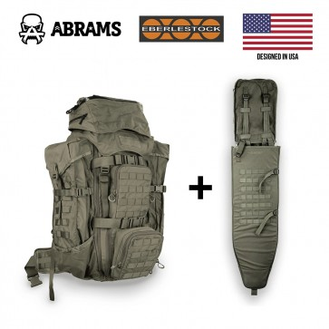 Рюкзак Eberlestock F4 Terminator Green Backpack + A4SS Tactical Weapon Carrier Military Green