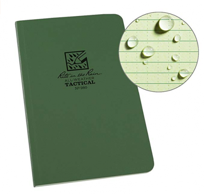 Rite In The Rain All-Weather Tactical Field Notebook